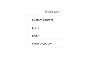 dropmic: Dropdown plugin