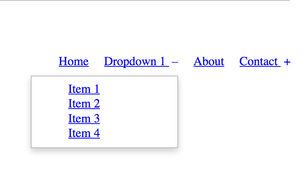 Drop: Simple and mobile-friendly dropdown menus
