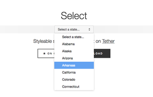 Select.js: Styleable dropdowns