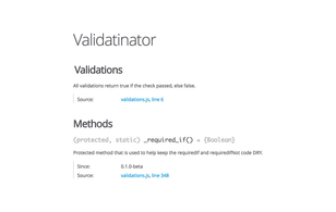 Validatinator.js: Form validation